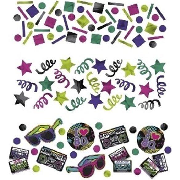 Confeti Fiesta de los 80
