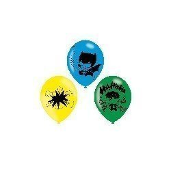Globos de Batman & Joker de látex (6)
