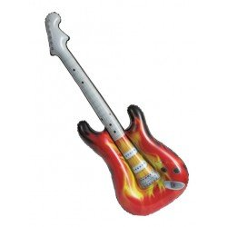 Guitarra electrica Hinchable Rock Star