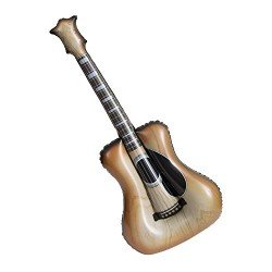 Guitarra Acustica Hinchable Rock