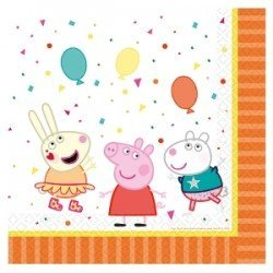 Servilletas Peppa pig party (16)