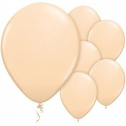 Globos de Color piel o crema BLUSH (100 Und)