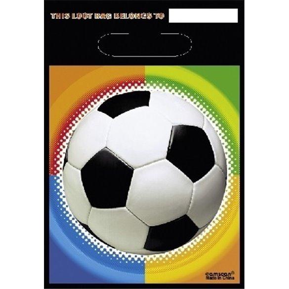 ✅Bolsa (8) Chuches / Regalito Futbol por solo 1,58€ en Masfiesta.es. Venta de Artículos de fiesta y decoración