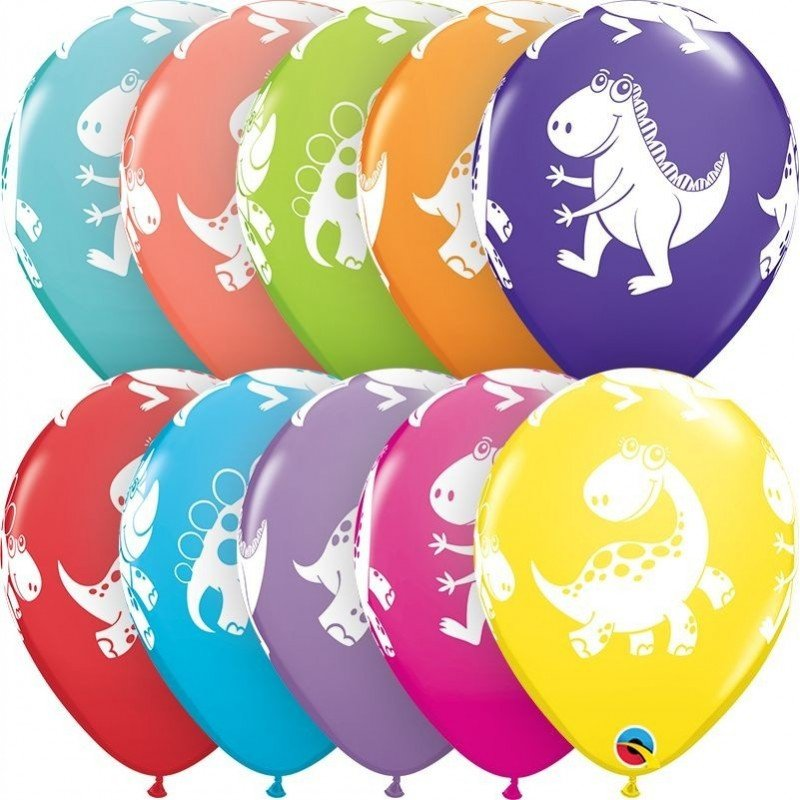Globos Dinosaurios Lindos Y Tiernos Colores Surtidos 6 Por Solo Los diseñadores también han selecionado estas ilustraciones de stock. globos dinosaurios lindos y tiernos colores surtidos 6
